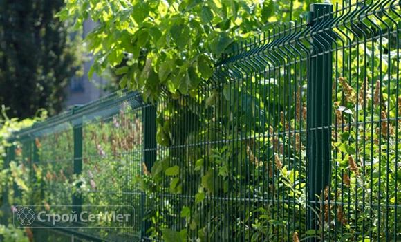 Фото 43. Забор из 3d, 3Д панелей фотографии фото под ключ с установкой под заказ купить в Минске