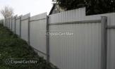 Забор из профлиста профнастила металлопрофиля МП-20 фотографии фото под ключ с установкой под заказ купить в Минске