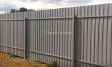 Красивый забор из профлиста профнастила металлопрофиля фото под ключ с установкой монтажом под заказ купить в Минске
