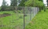 Купить забор из сетки рабицы под ключ с установкой и монтажом