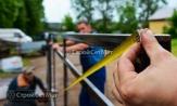 установка ворот и калитки, цена за работу за метр работы
