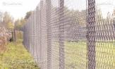 """Забор из сетки-рабицы 55х55 с установкой, монтажом, под ключ. Изготовитель УП """"СтройСетМет"""" в Минске под заказ."""