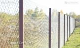 """Забор заказать из сетки рабицы с установкой монтажом под ключ с работой. Звоните в УП """"СтройСетМет"""" в Минске"""