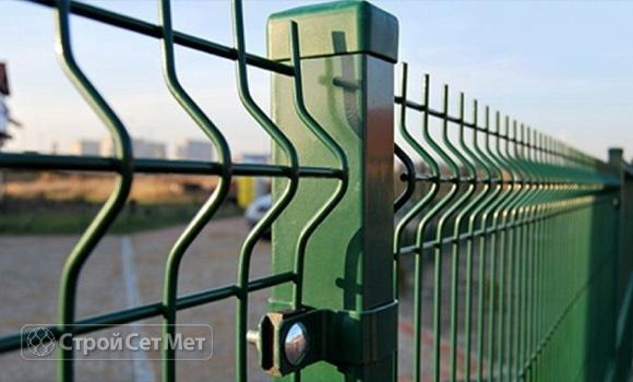 Фото 36. Забор 3d, сварной забор фотографии фото под ключ с установкой под заказ купить в Минске