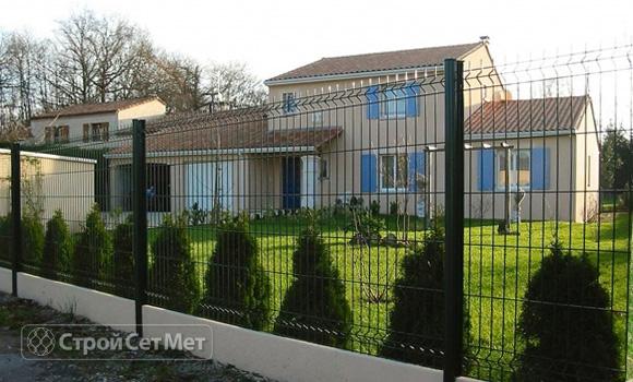 Фото 49. Забор из 3d, 3Д панелей фотографии фото под ключ с установкой под заказ купить в Минске