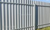 Красивый забор из профлиста профнастила металлопрофиля МП-20 фото под ключ с установкой под заказ купить в Минске