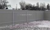 Забор из профлиста профнастила металлопрофиля фото под ключ с установкой монтажом под заказ купить в Минске