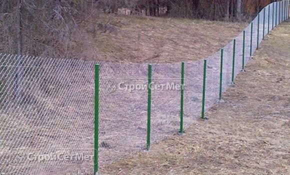Фото 57. Купить забор из сетки рабицы с установкой и монтажем в Беларуси