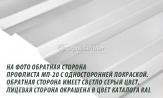 Профлист, профнастил, металлопрофиль МП-20 Профиль А ПС-20