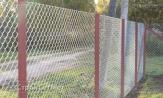 """Забор оцинкованный из сетки рабицы 55х55 купить с установкой (монтаж) под ключ. Низкие цены в УП """"СтройСетМет"""" в Минске"""