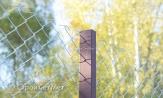 """Забор и столб из сетки рабицы 55х55 с установкой монтажом выс. 1.8 м под ключ. Заказывать в УП """"СтройСетМет"""" в Минске"""