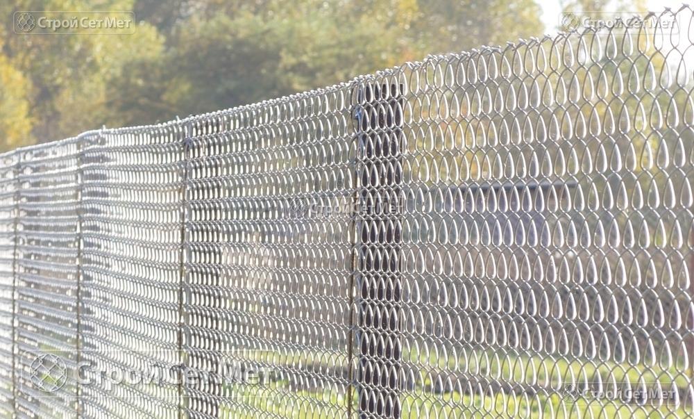 """Сетка-рабица оцинкованная 55х55 мм любой высоты забор купить в Минске с доставкой в компании УП """"СтройСетМет"""""""