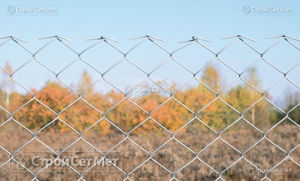"""Фото 240. Сетка-рабица оцинкованная 55х55 мм высотой от 1.2 м до 2 м, купить в Минске и области с доставкой в УП """"СтройСетМет"""""""