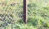 Столбы для сетки рабицы забор металлические купить