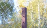 Столбы для сетки рабицы столбики металлические купить