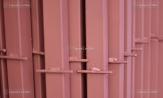Столбы для забора для сетки рабицы металлические купить